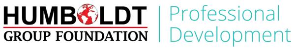 HGF – Humboldt Group Foundation – Continuing Education Logo